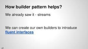 builder pattern in java 8 functional programming with java 8