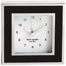 kate spade desk clock perry street clock kate spade polyvore