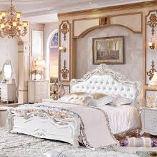 best selling latest design double bed set euro style bedroom