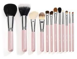 professional makeup tools travel 12 professional makeup brushes pink