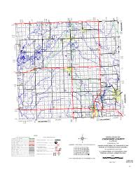 Kansas Counties Map Kansas Department Of Transportation Quarter Inch Scale County Maps