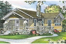 craftsman house plan pinewald 41 014 front elevation
