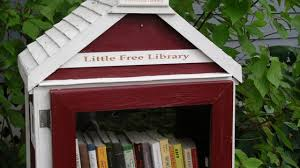 little free library a tiny library on stilts in manhattan