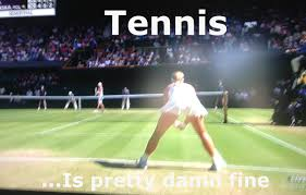 Tennis Memes - i know its late but my reaction when watching channel surfing and