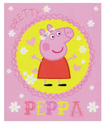 peppa pig pretty blanket peppa pig bedding kids bedding dreams
