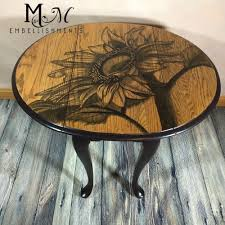 cover your coffee table in a stain flower coffee flower and