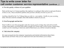 cover letter sample customer service job wining customer service