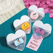 useful wedding favors personalized heart shaped magnetic wedding memo