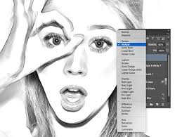 pictures sketch filter in photoshop drawing art gallery