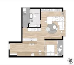 perfect floor plan single bedroom apartment that is perfect for the single life