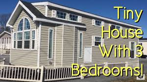 Tiny Homes On Wheels For Sale by Tiny House For A Family 3 Bedrooms Youtube