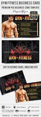 Fitness Business Card Template Gym Fitness U2013 Business Card Templates Psd U2013 By Elegantflyer