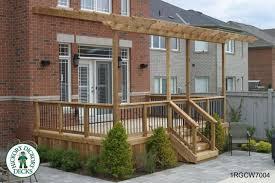 Decking Pergola Ideas by 1 Level Diy Deck Plans
