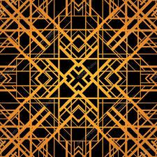Art Deco Style Art Deco Style Vector Geometric Pattern U2014 Stock Vector Mazeina