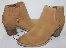 s suede ankle boots size 9 steve madden 039 s tallie ankle booties size 9 cognac suede