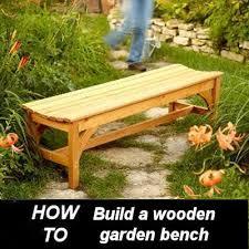Backyard Bench Ideas Diy Garden Bench Build It Yourself The Gardening Cook