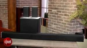 vizio home theater systems vizio 40 u201d 5 1 sound bar system sb4051 youtube