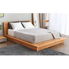 Wood Platform Bed Pch Series Solid Teak Wood Platform Bed