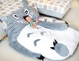 pillow beds for kids amazon com my neighbor totoro sleeping bag sofa bed twin bed