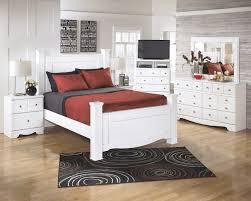 White Bedroom Dressers With Mirrors Weeki 6 Pc Bedroom Dresser Mirror U0026 Queen Poster Bed B270 31