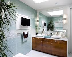 Glass Tiles Bathroom Bathroom Glass Tile Walls Home Design Ideas