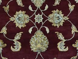 10 Round Rug by 10 U0027 X 10 U0027 Round Burgundy Rajasthan Wool And Silk Handmade Oriental