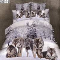 Wolf Bed Sets Wholesale Wolf Bedding Sets Buy Cheap Wolf Bedding Sets From
