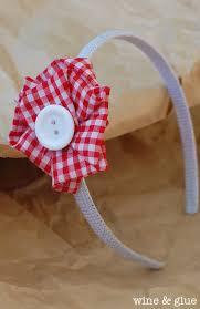 flowers for headbands easy no sew fabric flowers wine glue
