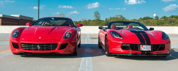 all the ferraris c7 and the 599gto side by side corvetteforum chevrolet