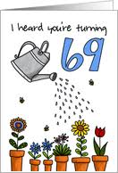 69th birthday cards from greeting card universe