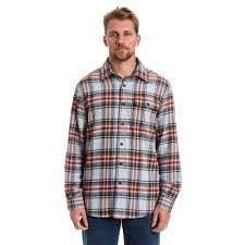 Flannel Shirts Stanley S Large Gray Button Front Flannel Shirt 11770