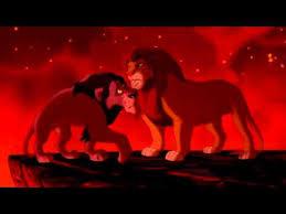 lion king simba faces scar