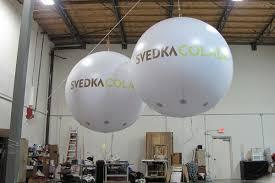 Lighted Balloons Lighted Helium Spheres Winnebago Giant Advertising Balloons