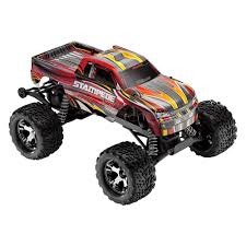 traxxas monster jam rc trucks traxxas red electric stampede 1 10 scale monster truck