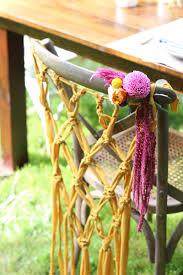 diy macrame chair hanging