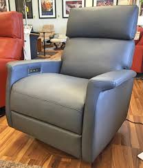 felix comfort recliner by american leather shown with power