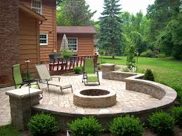 Patio And Firepit Patio Ideas With Firepit Backyard Pit Landscaping Gardening 1