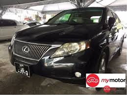 lexus suv for sale nj 2012 lexus rx for sale in malaysia for rm128 000 mymotor