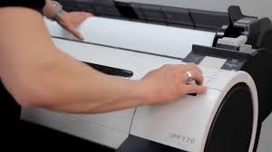 how to install plotter canon imageprograf ipf670 u0026 ipf770 youtube