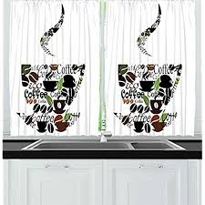 Kitchen Curtains Coffee Curtains For Kitchen