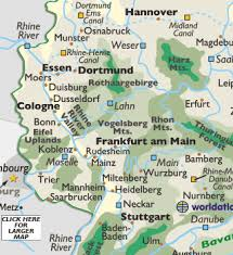 map of germany showing rivers bamberg germany photos bamberg germany map europe maps germany