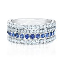 blue sapphires rings images Birks splash diamond and blue sapphire ring birks jpg