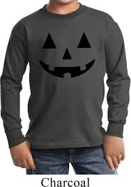 halloween hoodie kids halloween shirt black jack o lantern long sleeve tee t shirt