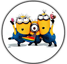 minions cake toppers minions despicable me edible image photo cake