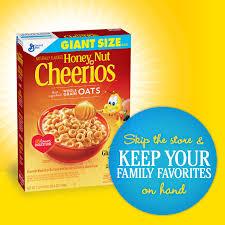 Breakfast Food Cereal Walmart Com by General Mills Honey Nut Cheerios Gluten Free Cereal 26 6 Oz Box