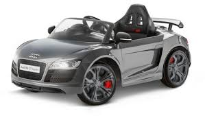 audi r8 kidtrax audi r8 spyder gt 6 volt powered grey ride on walmart canada