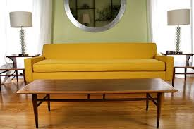 Modern Yellow Sofa Yellow Sofa Is In The House Whipstitch