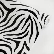 amazon com animal zebra vinyl self adhesive wallpaper prepasted amazon com animal zebra vinyl self adhesive wallpaper prepasted wall stickers wall decor roll home kitchen