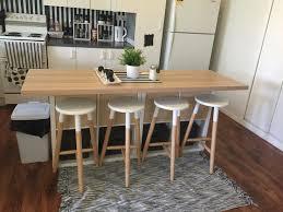 ikea kitchen island with stools ikea hack kitchen island 2x cube bookshelves 80 00 ikea light wood