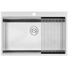 33 x 22 drop in kitchen sink ticor sinks bradford series 33 x 22 drop in kitchen sink reviews
